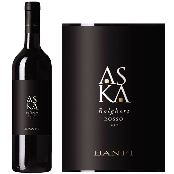 Rượu Vang Banfi Aska Bolgheri Rosso DOC