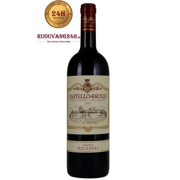 Rượu Vang Barone Ricasoli Castello Di Brolio