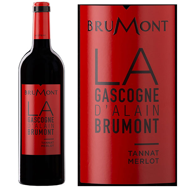 Rượu Vang Brumont La Gascogne Tannat - Merlot