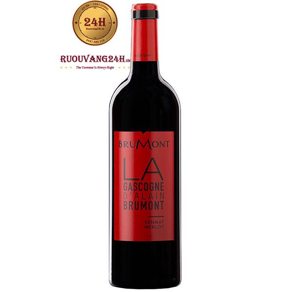 Rượu Vang Brumont La Gascogne Tannat – Merlot