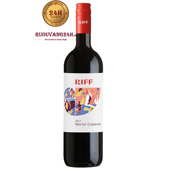 Rượu Vang Cantina Riff Merlot Cabernet