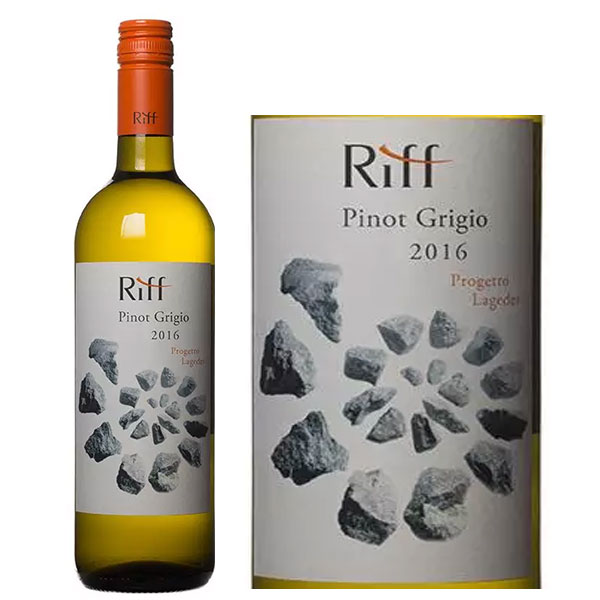 Rượu Vang Cantina Riff Pinot Grigio Progetto Lageder