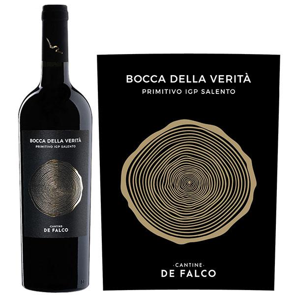 Rượu Vang Cantine De Falco BOCCA DE VERITA Primitivo