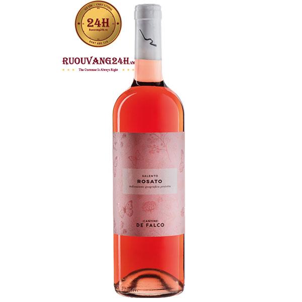 Rượu Vang Cantine De Falco Rosato Salento