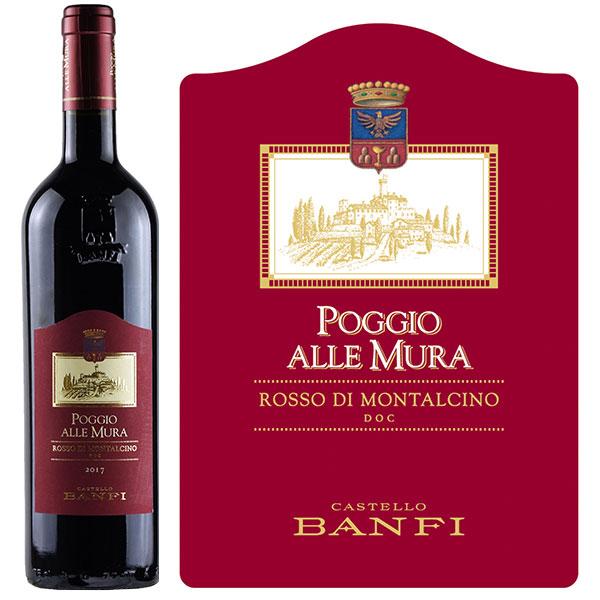 Rượu Vang Castello Banfi Poggio Alle Mura Rosso Di Montalcino
