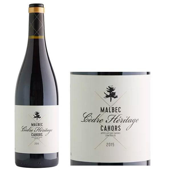 Rượu Vang Cedre Heritage Cahors Malbec