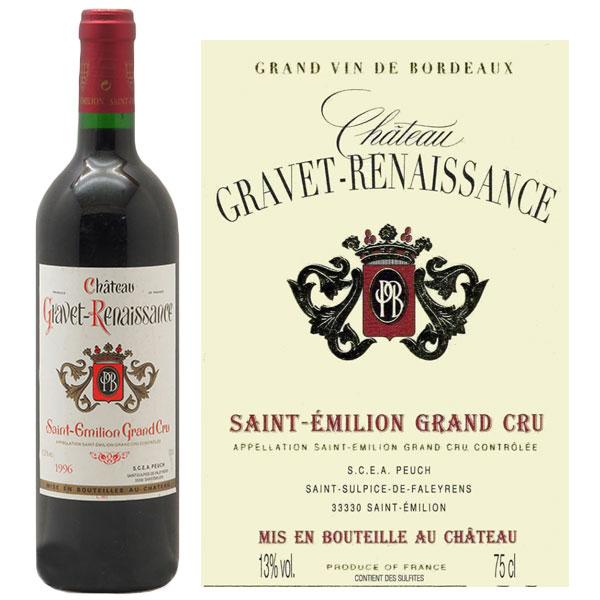 Rượu Vang Chateau Gravet Renaissance