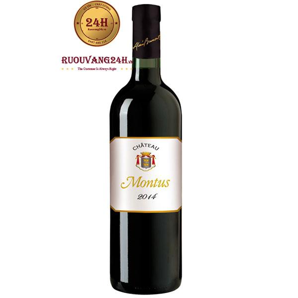 Rượu Vang Chateau Montus Madiran