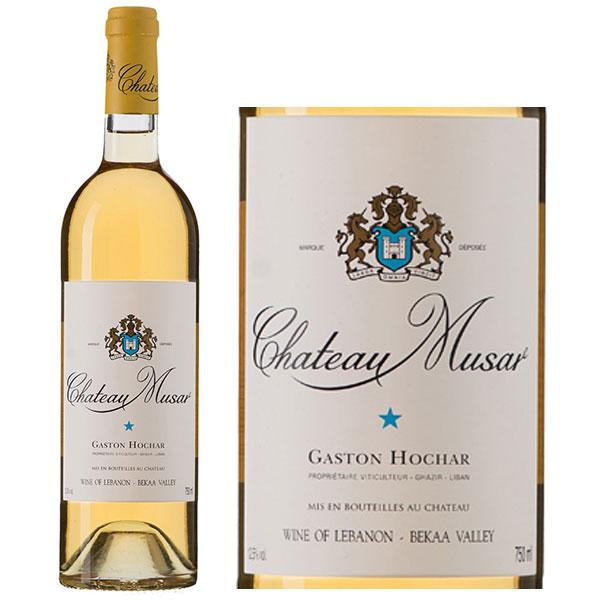 Rượu Vang Chateau Musar White