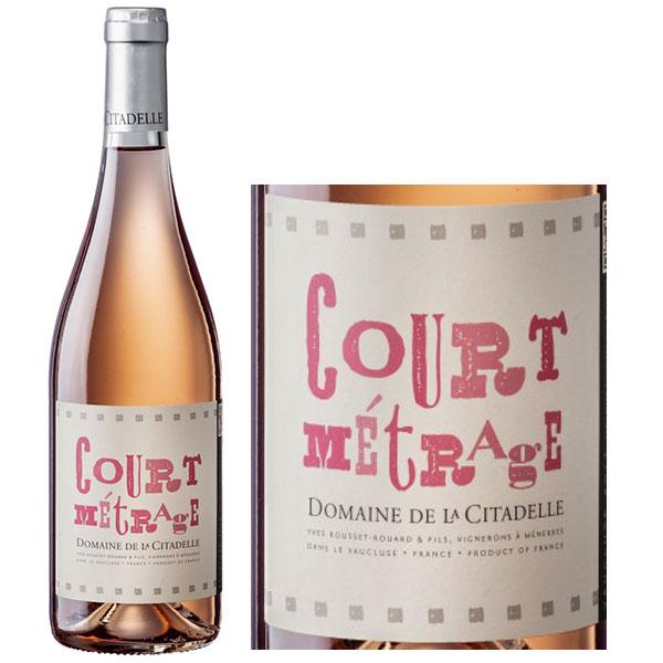 Rượu Vang Domaine De La Citadelle Court Metrage Rose