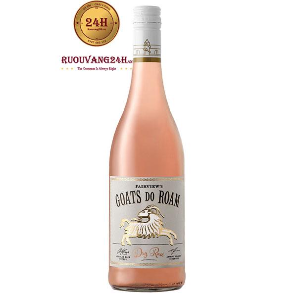 Rượu Vang Fairview Goats Do Roam Rose