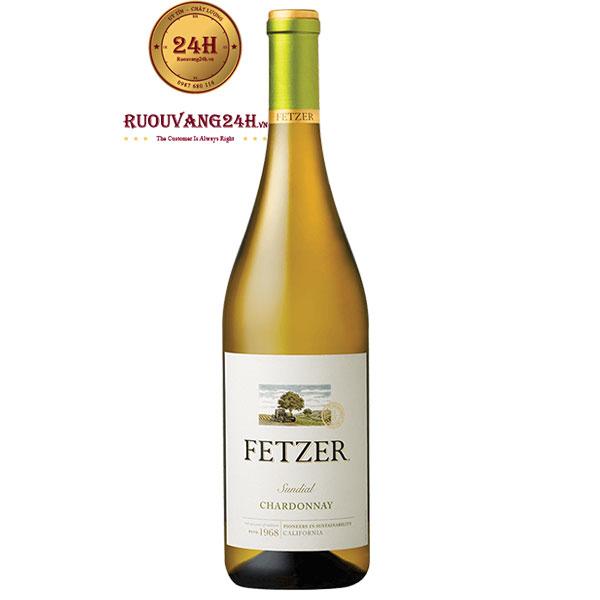 Rượu Vang Fetzer Chardonnay Sundial