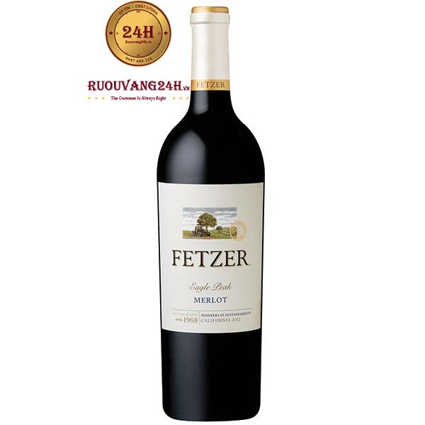 Rượu Vang Fetzer Merlot Eagle Peak California