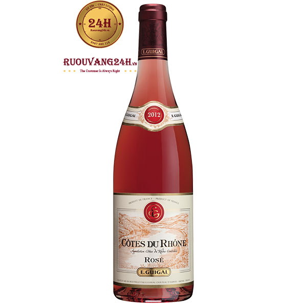 Rượu Vang Guigal Rose Cotes Du Rhone