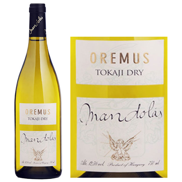 Rượu Vang Hungary Oremus Tokaji Dry Mandolas