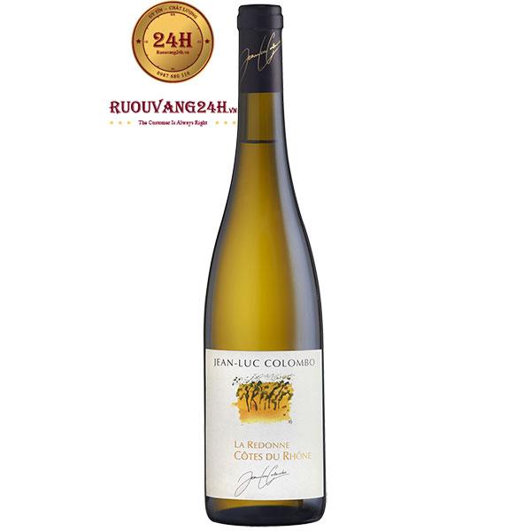 Rượu Vang Jean-Luc Colombo La Redonne Cotes Du Rhone