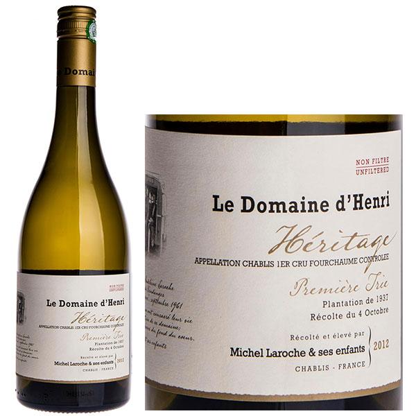 Rượu Vang Le Domaine D'Henri Fourchaume Héritage