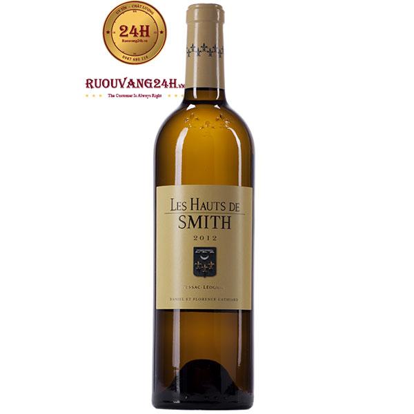 Rượu Vang Les Hauts de Smith Pessac Leognan