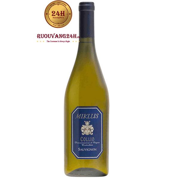 Rượu Vang Miklus Collia Sauvignon Blanc