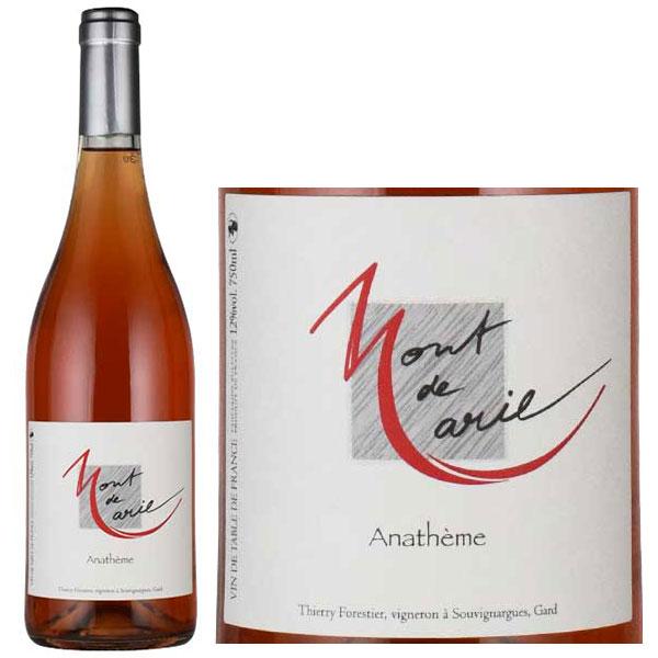 Rượu Vang Mont De Marie Anatheme Rose