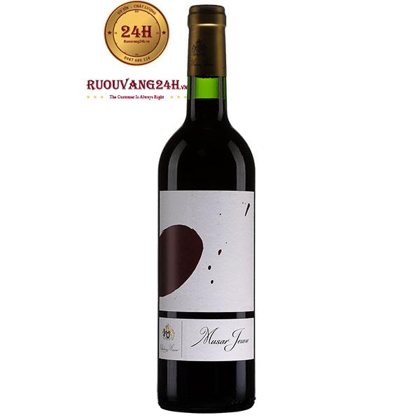 Rượu Vang Musar Jeune Red 2016