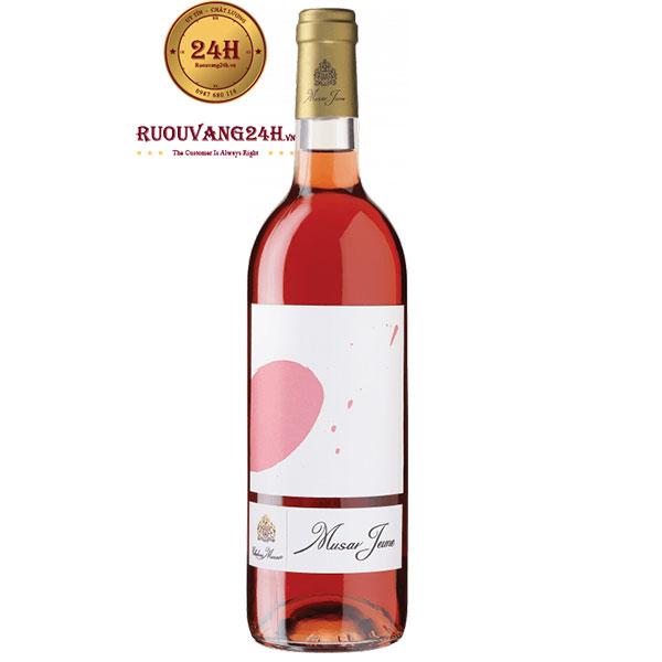 Rượu Vang Musar Jeune Rose