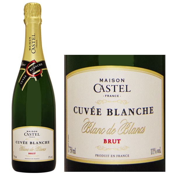 Rượu Vang Nổ Maison Castel Cuvee Blanche Brut