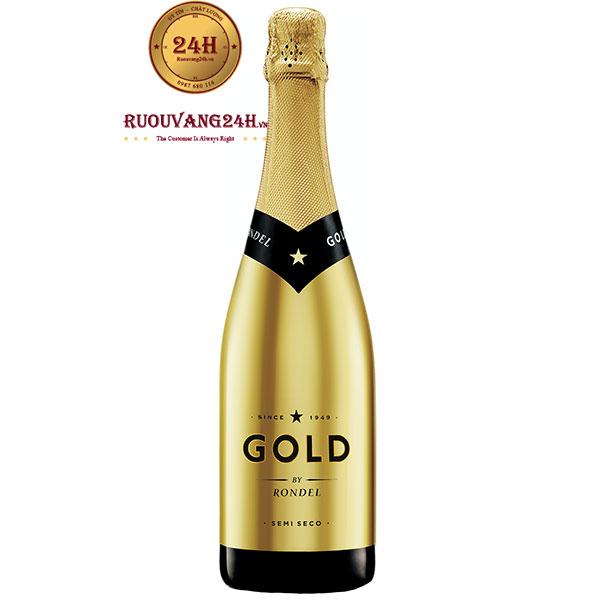 Rượu Vang Nổ Rondel Gold Semi Seco