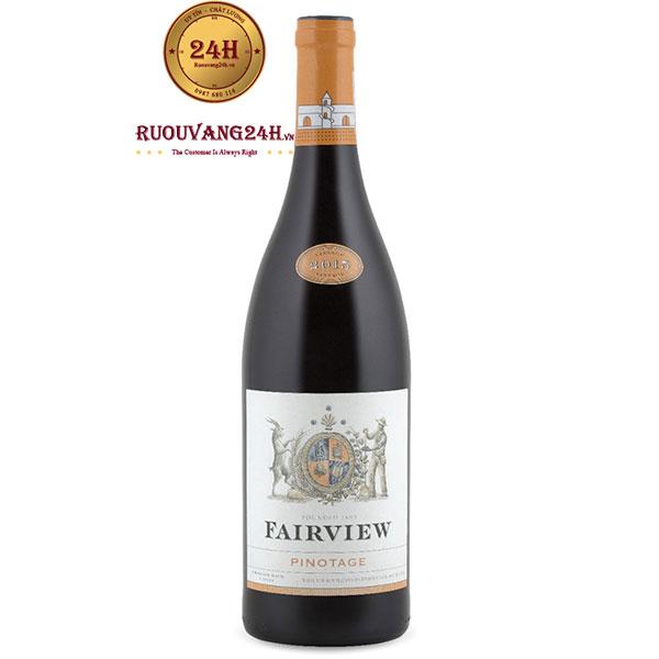 Rượu Vang Nam Phi Fairview Pinotage