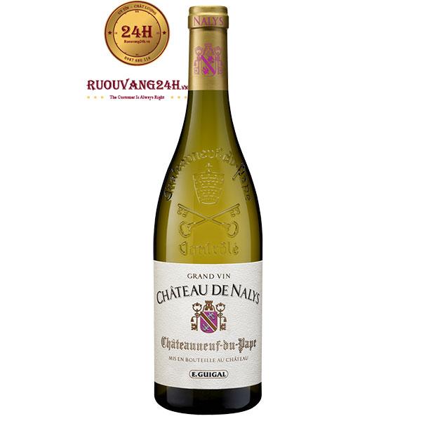 Rượu Vang Pháp Chateau De Nalys Blanc