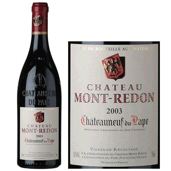 Rượu Vang Pháp Chateau Mont Redon