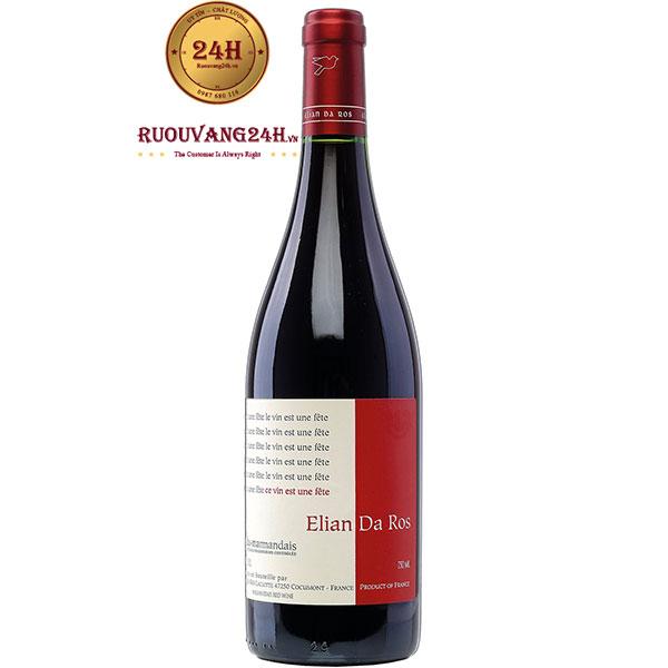 Rượu Vang Pháp Elian Da Ros