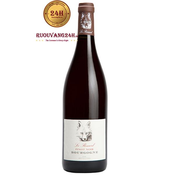 Rượu Vang Pháp Le Renard Pinot Noir Bourgogne