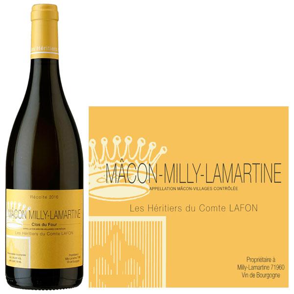 Rượu Vang Pháp Macon Milly Lamartine