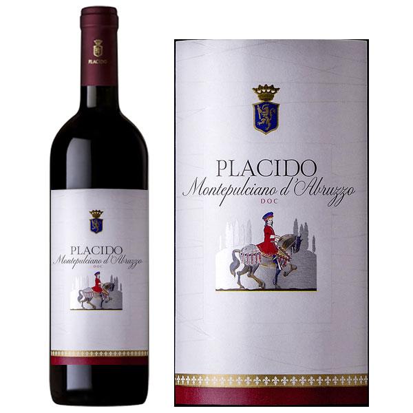 Rượu Vang Placido Montepulciano d'Abruzzo