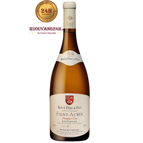 Rượu Vang Roux Père & Fils Saint Aubin Les Cortons