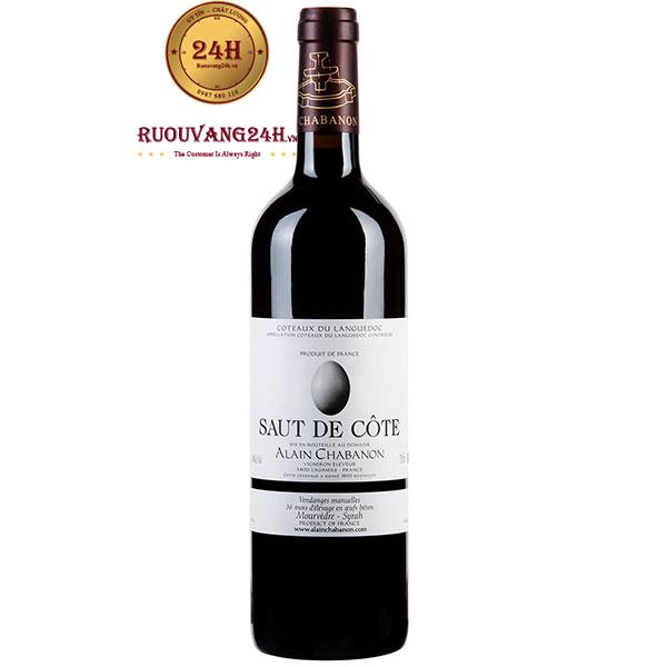 Rượu Vang Saut De Cote Alain Chabanon