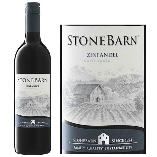 Rượu Vang Stone Barn Zinfandel California