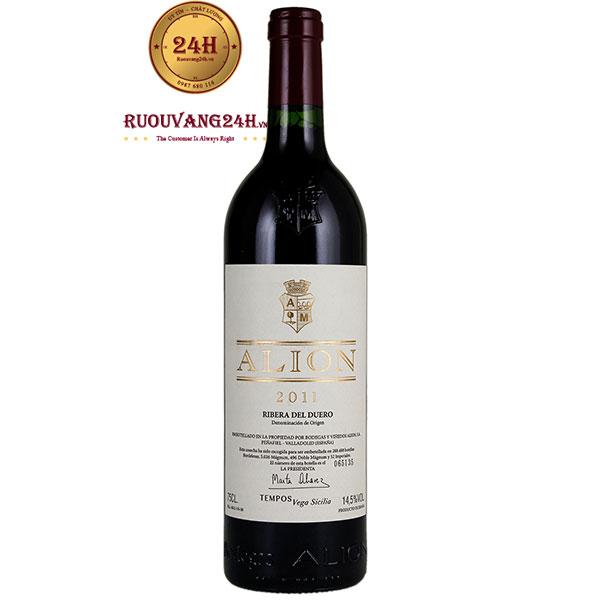 Rượu Vang Tempos Vega Sicilia ALION Ribera Del Duero