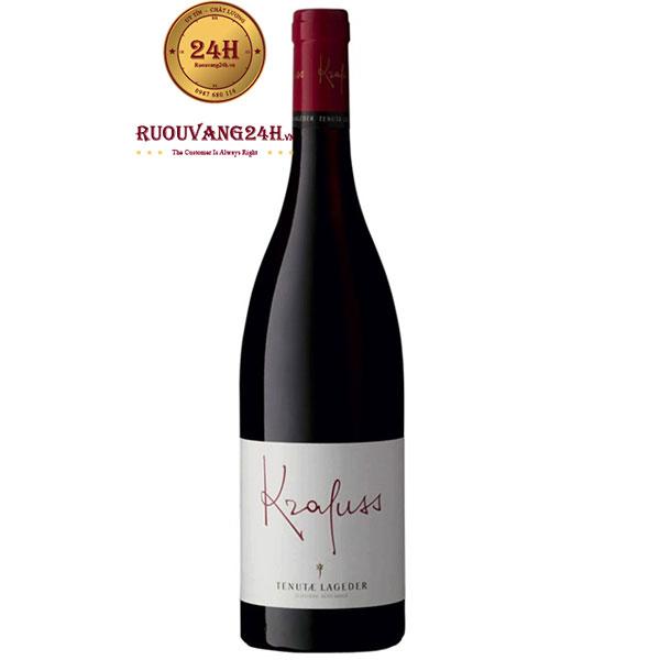 Rượu Vang Tenutae Lageder Krafuss Pinot Noir