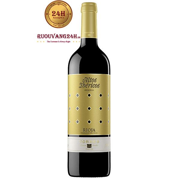 Rượu Vang Torres Altos Ibericos Reserva Rioja