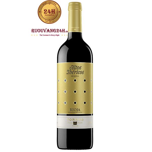 Rượu Vang Torres Altos Ibericos White