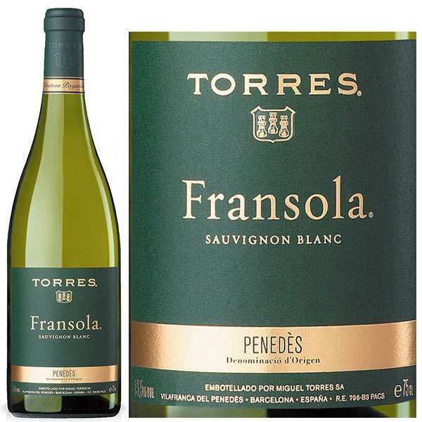 Rượu Vang Torres Fransola Sauvignon Blanc