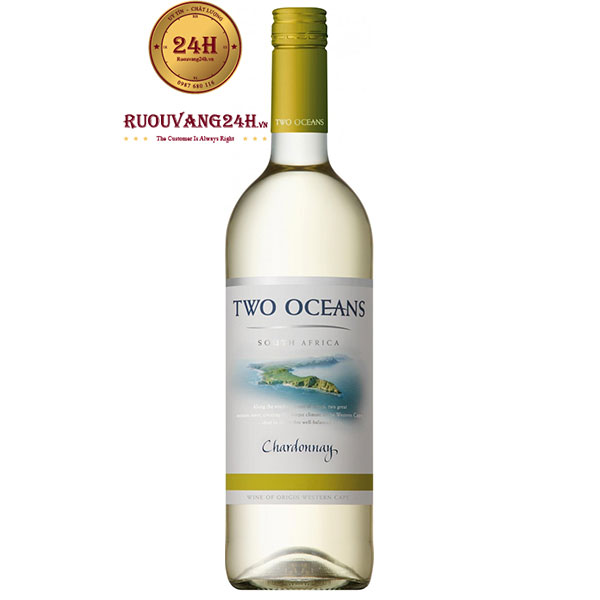 Rượu Vang Trắng Two Oceans Chardonnay