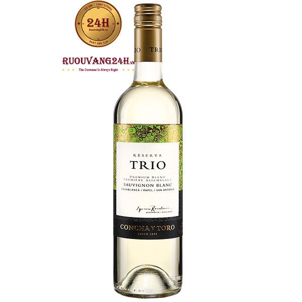 Rượu Vang Trio Reserva Sauvignon Blanc