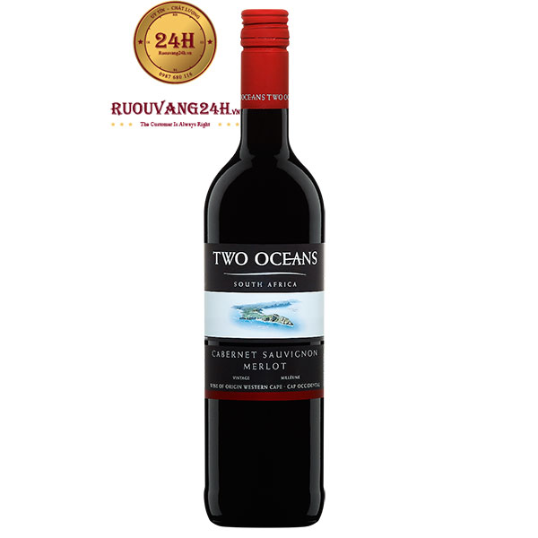 Rượu Vang Two Oceans Cabernet Sauvignon Merlot
