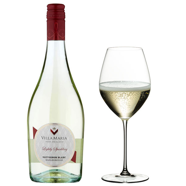Rượu Vang Villa Maria Lightly Sparkling Sauvignon Blanc