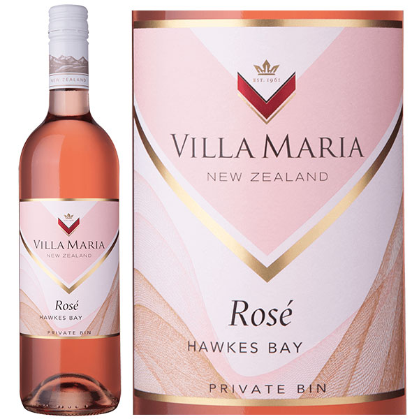 Rượu Vang Villa Maria Rose Hawkes Bay Private Bin