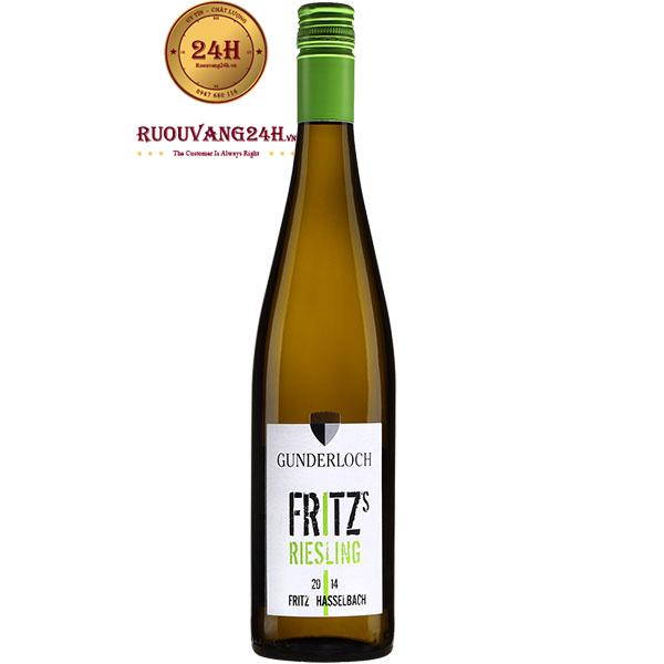 Rượu Vang Fritz Riesling Gunderloch
