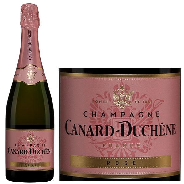 Rượu Champagne Canard Duchene Brut Rose